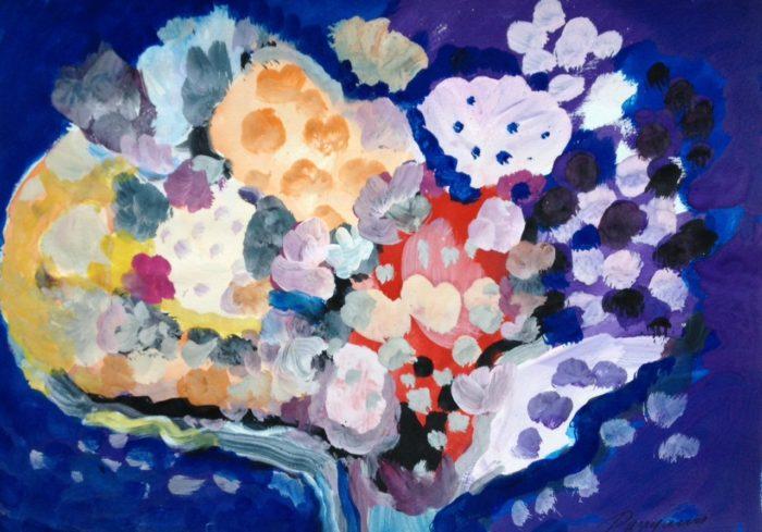 Bouquet 4, 2012, 30x40 cm, g:p