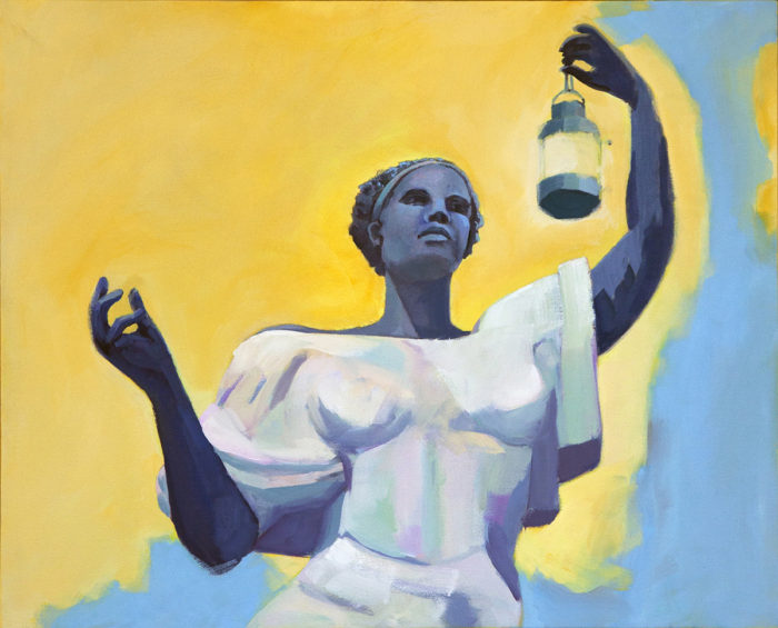 Mary Michaela Murray, Emancipation, 2017, oil on canvas, 24 x 30 inches