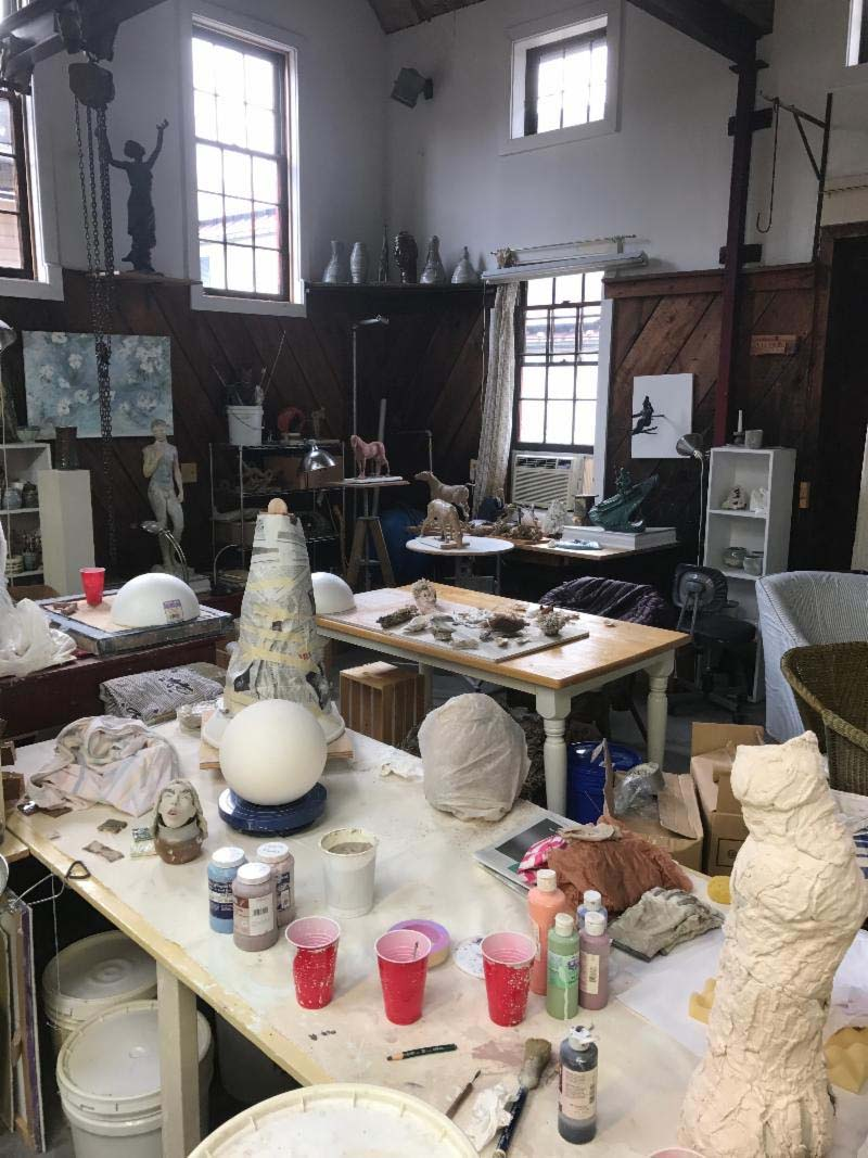 Yongblood Art Studio Clay Pounding Hand-build Workshop February 2019