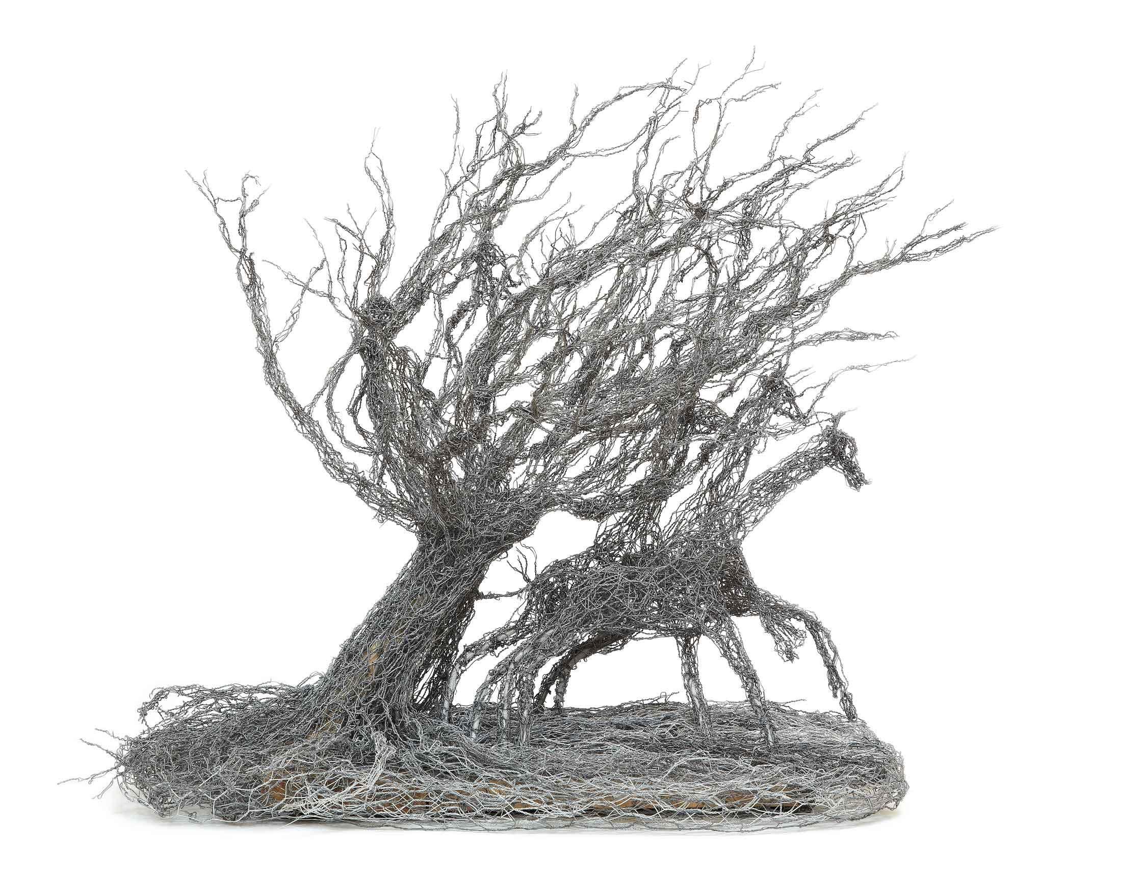 Wire Tree Flying by Joan Danziger