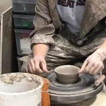 ceramics class at YAS